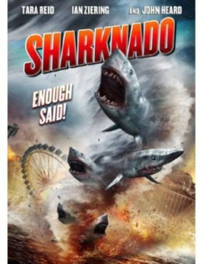 sharknado dvd cover
