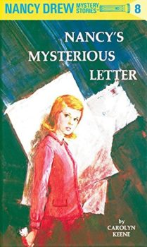 nancy's mysterious letters by carolyn keene book cover