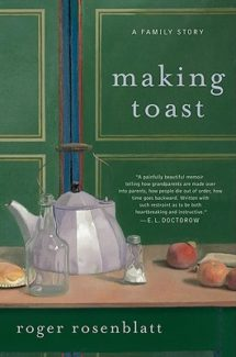 making toast by roger rosenblatt book cover