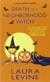 death of a neighborhood witch book cover