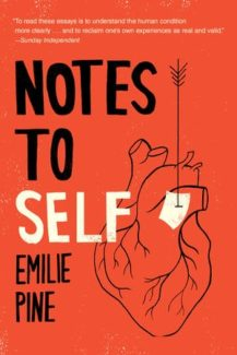 notes to self by emilie pine book cover