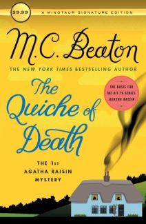 the quiche of death book cover