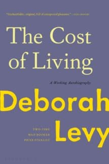 the cost of living by deborah levy book cover