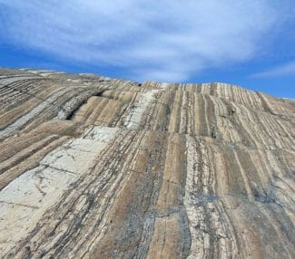 Sedimentary rock photo