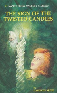 the sign of the twisted candles book cover