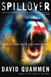 spillover book cover - who doesn't want to read abot infectious disease on their anti-valentine's day?