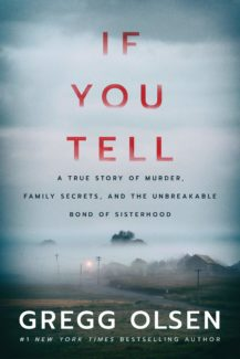 if you tell book cover
