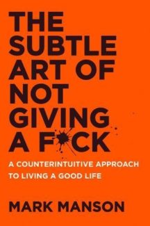 Subtle Art of Not Giving a F*uck book cover