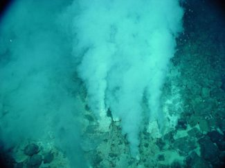 Hydrothermal vent photo