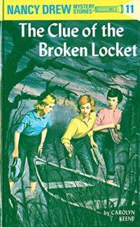 clue of the broken locket book cover