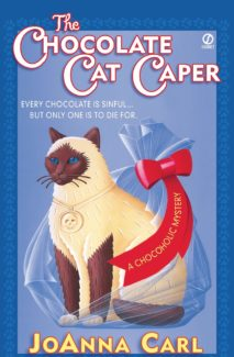 the chocolate caper book cover