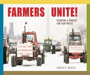 Farmers Unite Planting a Protest for Fair Prices book cover