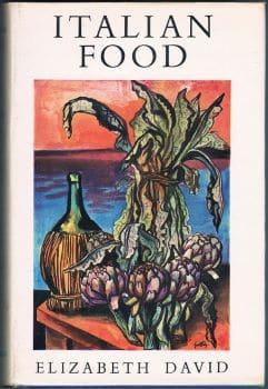 italian food by Elizabeth David cover